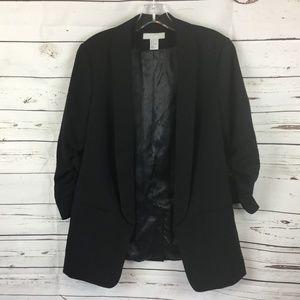 H&M Shawl Collar Blazer Jacket, Size 8